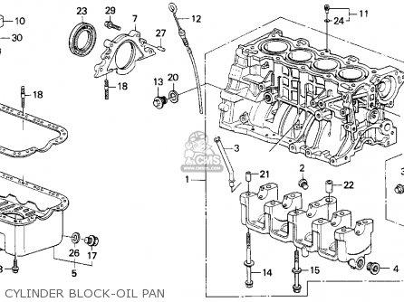 1993 Honda Accord Ex Exhaust Parts Diagram