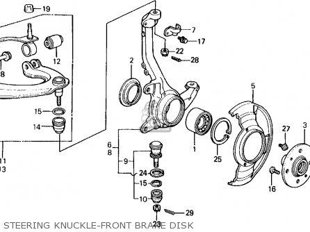 Honda CIVIC WAGON 1989 (K) WGN 4WD 1600 (KA,KL) parts