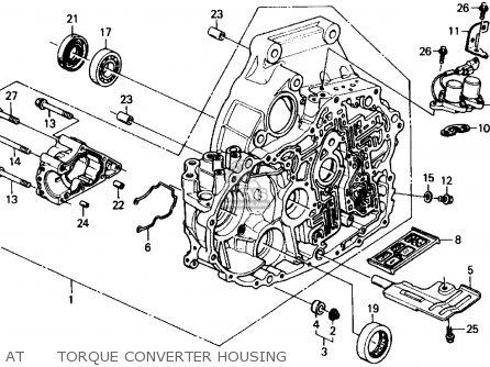 Honda CIVIC WAGON 1990 (L) WGN 4WD 1600 (KA,KL) parts