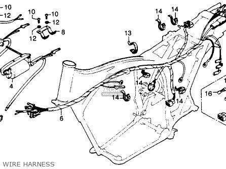 Honda Cb 350 Engine Honda CBX 750 Wiring Diagram ~ Odicis