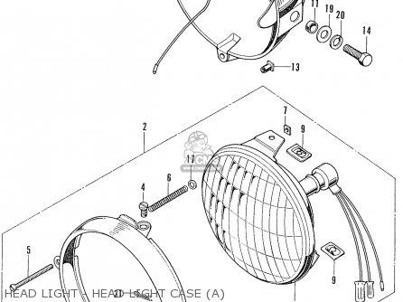 Honda CL100 SCRAMBLER 1972 K2 USA parts lists and schematics