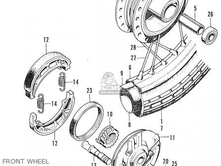Honda CL100 SCRAMBLER K2 GENERAL EXPORT / TYPE 3 parts