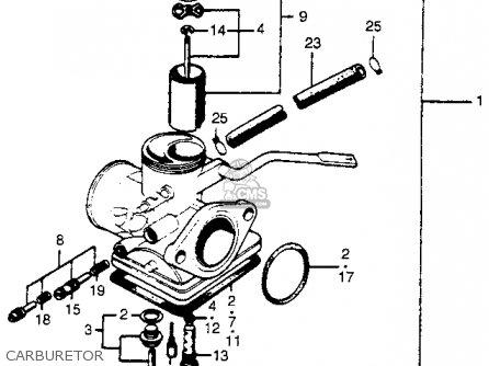 Honda Cl100s Scrambler 1971 K0 Usa parts list partsmanual