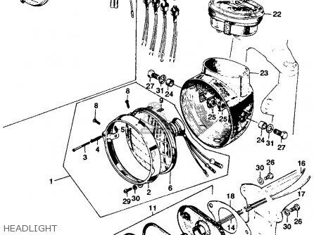 Honda Cl125a Scrambler 1967 Usa parts list partsmanual