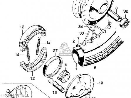 Honda CL125S SCRAMBLER 1973 K0 USA parts lists and schematics