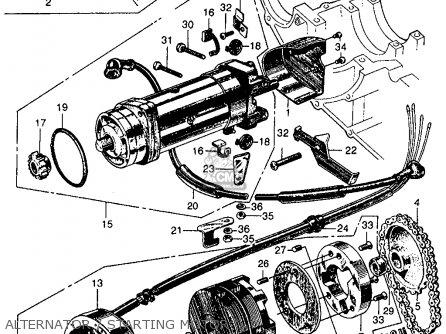 Honda Cl160 Scrambler 1966 Usa parts list partsmanual