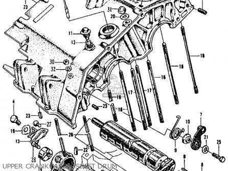 Honda CL160 SCRAMBLER 1966 USA parts lists and schematics