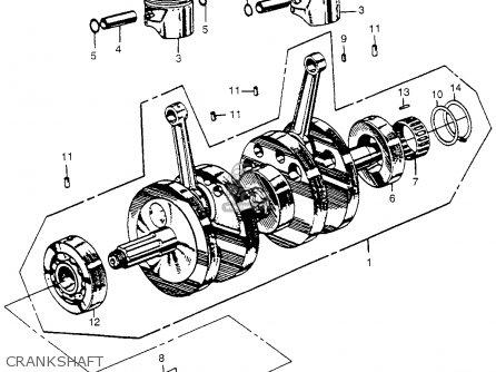 Honda Cl175 Scrambler 1968 K0 Usa parts list partsmanual