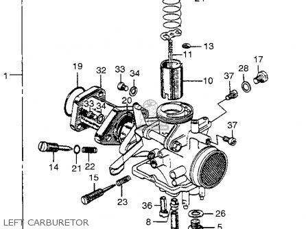 Honda CL175 SCRAMBLER 1968 K0 USA parts lists and schematics