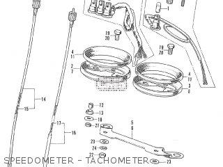 Honda Cl175 Scrambler 1970 K4 Usa parts list partsmanual