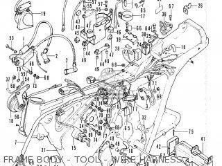 Honda Cl200 Scrambler 1974 Usa parts list partsmanual