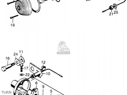 Honda CL350 SCRAMBLER 1970 K2 USA parts lists and schematics