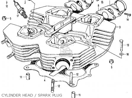Honda Cl350 Wiring Diagram Honda CL350 Engine Wiring