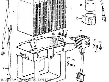 Honda CL350 SCRAMBLER 1973 K5 USA parts lists and schematics