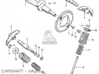Honda CL350 SCRAMBLER K3 GENERAL EXPORT parts lists and