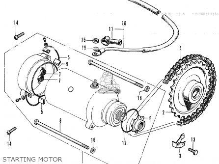 Honda CL350 SCRAMBLER K4 GENERAL EXPORT / KMH parts lists