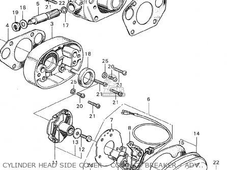 Honda CL350 SCRAMBLER K0 GERMANY parts lists and schematics