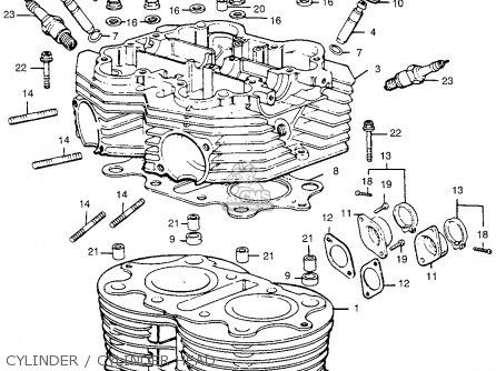 Honda CL360 SCRAMBLER 1974 K0 USA parts lists and schematics