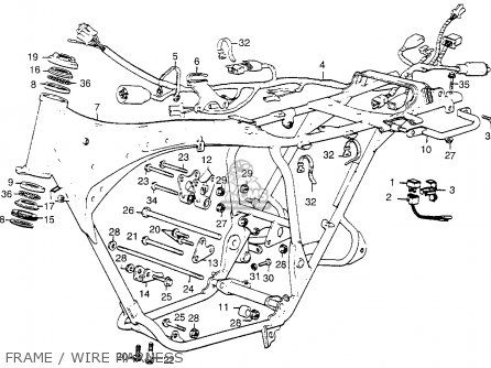 Wiring Diagram For 1968 Honda Cl350. Honda. Auto Wiring