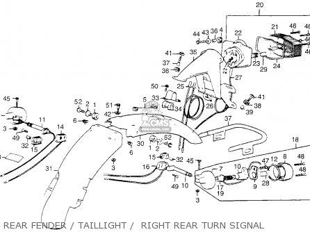 Honda CL360 SCRAMBLER 1975 K1 USA parts lists and schematics