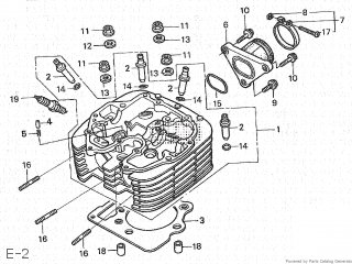 Honda CL400 1998 (W) JAPAN NC38-100 parts lists and schematics