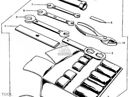 Honda CL450 SCRAMBLER 1968 K0 USA parts lists and schematics