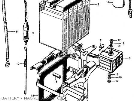 Honda Cl450 Scrambler 1969 K2 Usa parts list partsmanual