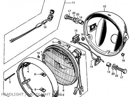 Honda CL450 SCRAMBLER 1969 K2 USA parts lists and schematics