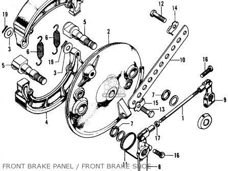 Honda Cl450 Scrambler 1971 K4 Usa parts list partsmanual