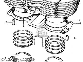 Honda CL450 SCRAMBLER 1974 K6 USA parts lists and schematics