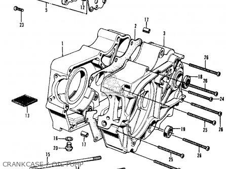Honda Cl70 Scrambler 1969 K0 Usa parts list partsmanual