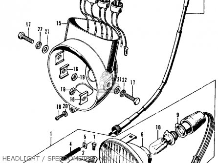 1983 Honda C70 Wiring Diagrams