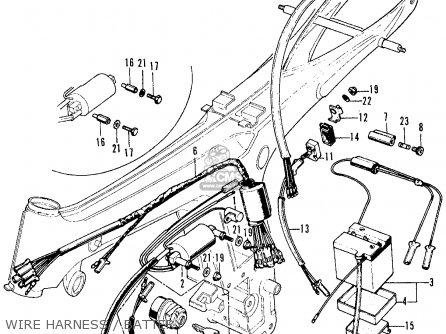 Honda CL70 SCRAMBLER 1969 K0 USA parts lists and schematics