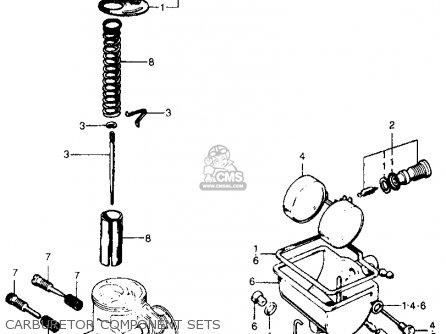 Honda CL70 SCRAMBLER 1970 K1 USA parts lists and schematics