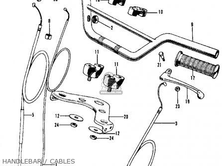 Honda CL70 SCRAMBLER 1971 K2 USA parts lists and schematics