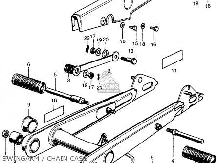 Honda Cl70 Scrambler 1971 K2 Usa parts list partsmanual