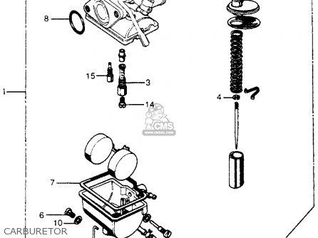 Honda Cl70 Scrambler 1972 K3 Usa parts list partsmanual