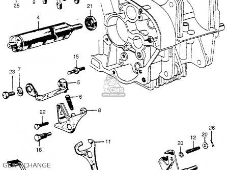 Honda Cl72 Scrambler 1962 Usa / 250 parts list partsmanual