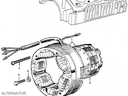 Honda Cl72 Scrambler 250 1962 Usa parts list partsmanual