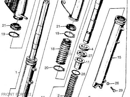 Honda CL77 SCRAMBLER 1965 USA / 305 parts lists and schematics