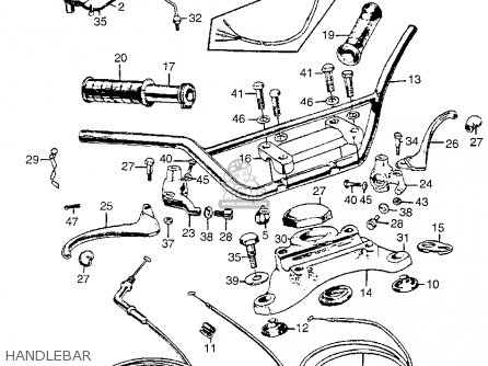 Honda CL77 SCRAMBLER 1965 USA / 305 parts lists and schematics