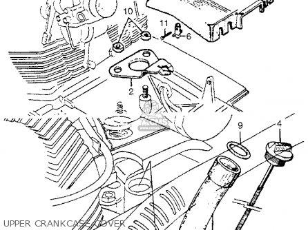 Honda Cl77 Scrambler 1965 Usa / 305 parts list partsmanual