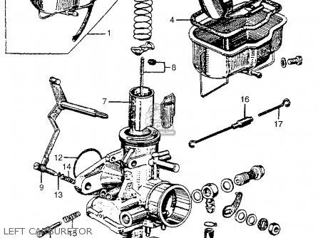 Honda Cl77 Scrambler 305 1965 Usa parts list partsmanual