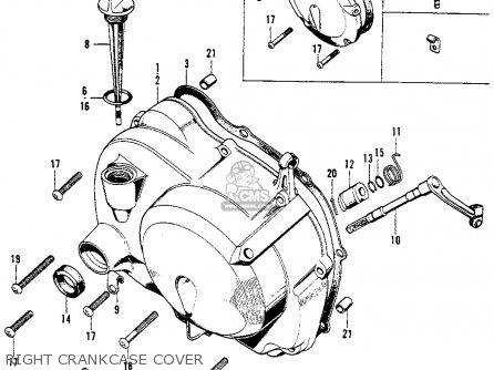 Honda CL90 SCRAMBLER 1967 USA parts lists and schematics