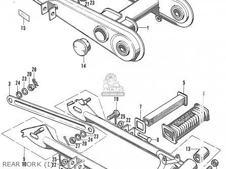 Honda Cl90 Scrambler General Export / Type 1 parts list