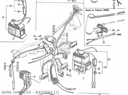 Honda Cl90 Scrambler Type I (general Export Model) parts