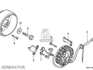 Honda CLR125 CITYFLY 1998 (W) ENGLAND / CMF parts lists
