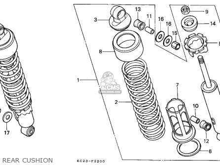 Honda Cm125c Custom 1985 (f) France / Kph parts list