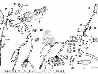 Honda CM125C CUSTOM 1999 (X) FRANCE / KPH parts lists and