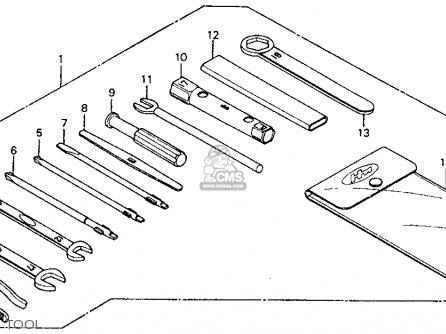Honda Cm185t Twinstar 1978 Usa parts list partsmanual